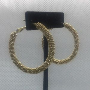 4 for $12: Gold Tone Hoops